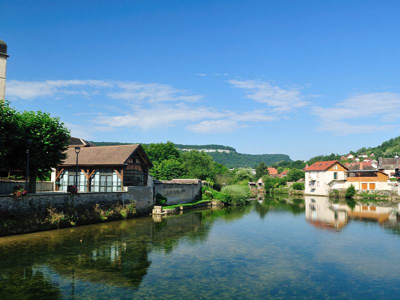 Des paysages authentiques en bord de Saône